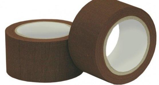 Páska kobercová hnědá 10 m x 50 mm