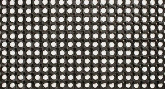 Rohožka Ring 40x60 cm černá