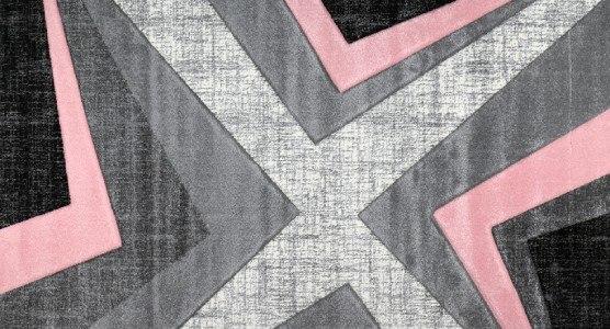 Warner 120x170 cm 1180A růžová