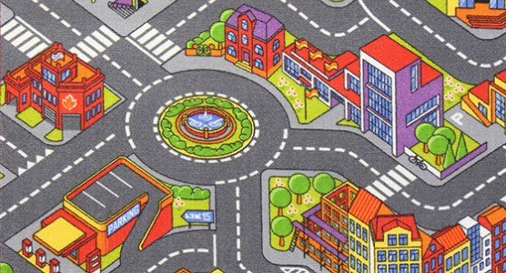 Big City 100x165 cm